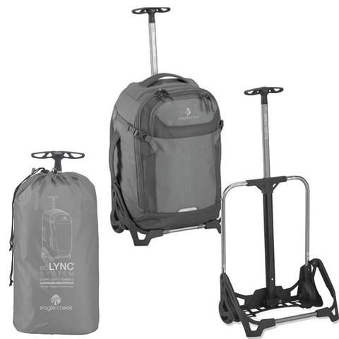 Eagle Creek EC Lync System 20 36 Litre Convertible Carry-on Wheeled Travel Pack