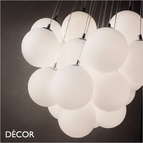 Mapa Bianco 11 22 White Etched Glass Chrome Modern Designer Pendant Light Cluster Italian Chic For Your Kitchen Dining Room Or Bistro Modern Pendant Light Pendant Lighting Multi Light Pendant