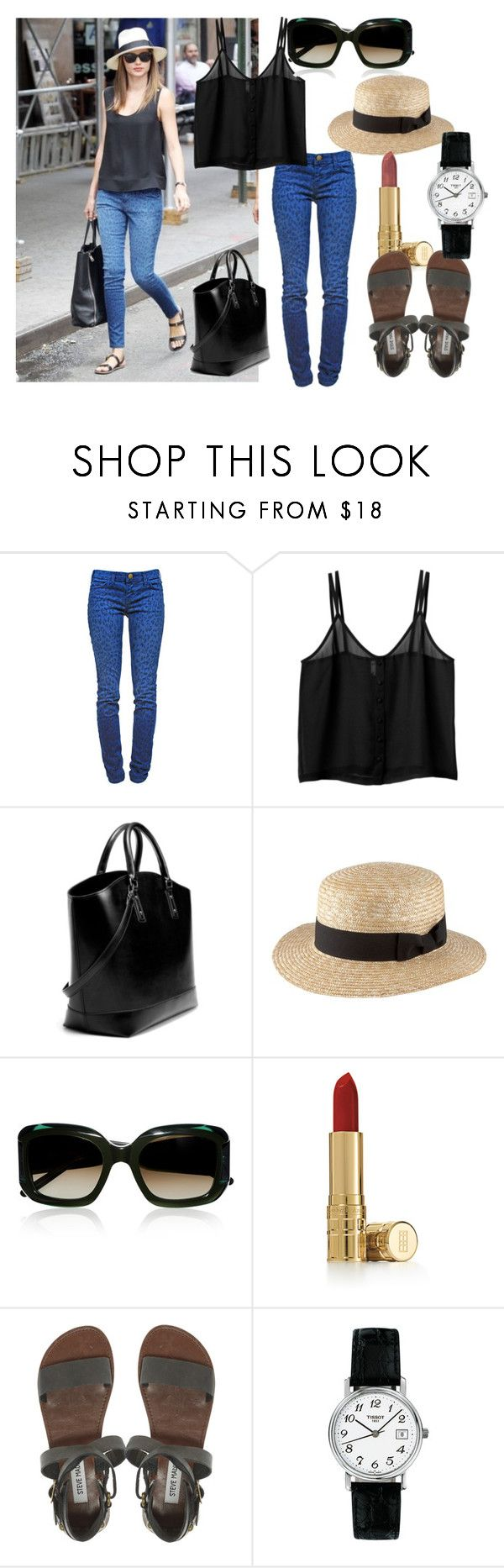 """Oh, to be married to Orlando Bloom"" by actuelle ❤ liked on Polyvore featuring Sephora Collection, Current/Elliott, Monki, Zara, H! by Henry Holland, Marni, Elizabeth Arden, Steve Madden and Tissot"
