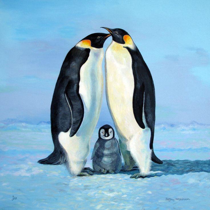 всё-таки, пингвины на картинах художников бонус