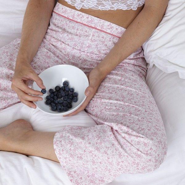 Organic Cotton Floral Pyjama Pants