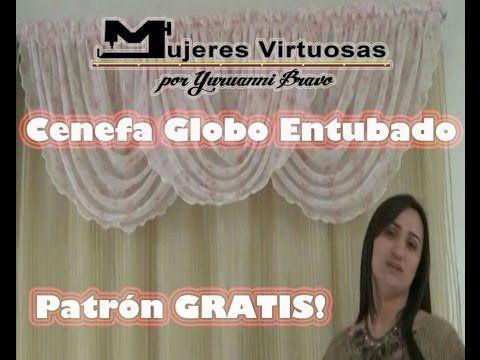 Como hacer una Cenefa Globo Entubado Redondo Patron Gratis por Yuruanni Bravo - YouTube
