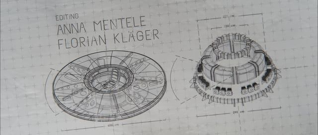 Hi Everyone. Here´s a project I did for a short film for Carl Schröter https://vimeo.com/lrac  Initially it was planned to make a photo real sequence where the UFO is built up bit by bit. I already had built the entire UFO in shiny 3D when the decision was made that something else was needed. http://www.silverwing-vfx.de/Download/UFO_3D_01.jpg  I began to trace all edges of my 3D model with splines and built my own animatable wire frame. The Cartoon Renderer was not an option as the splines…