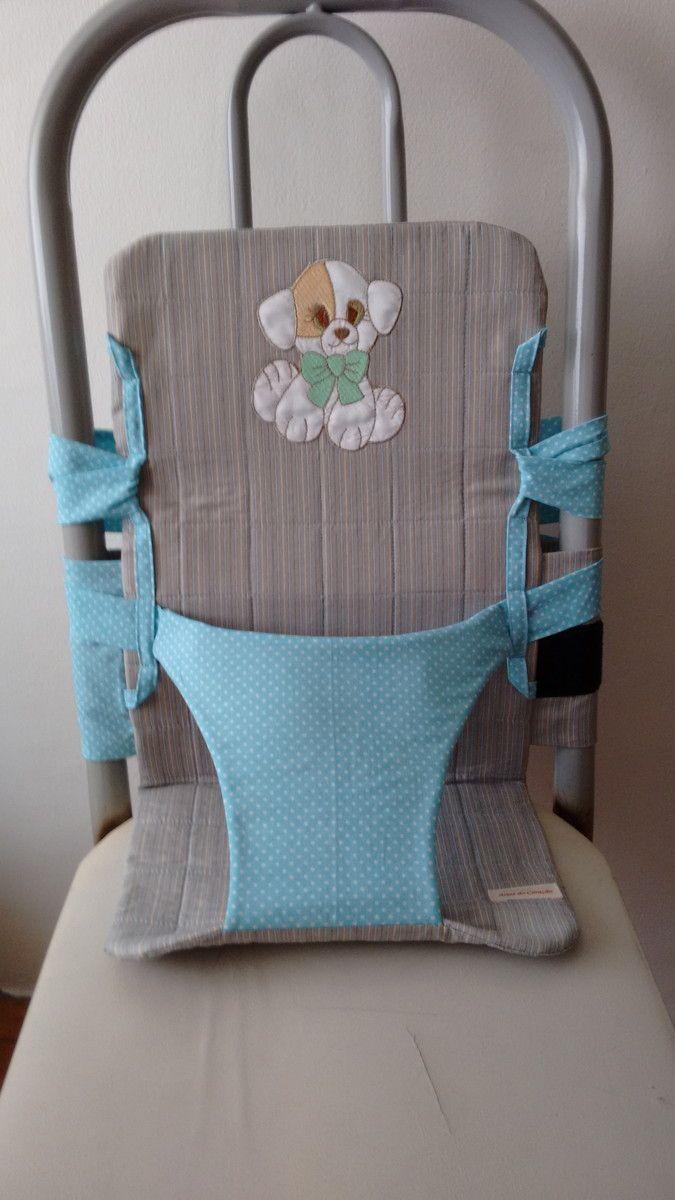 Cadeirinha portátil para meninos e meninas, você pode levar na bolsa e usar em qualquer cadeira, na casa da vovó, da titia, da dinda, dos amigos...Para crianças de 6 meses a dois anos e pouco.. <br>Consulte cores.