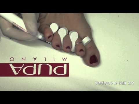 Tutorial Nail Art per le unghie dei piedi