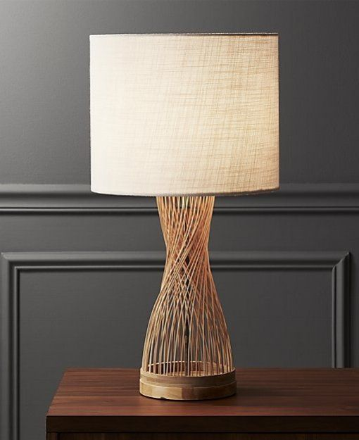 81 best modern lighting ideas images on pinterest woven at an angle natural fibers form lamp with down to earth style white shade finishes it off simply keyboard keysfo Image collections