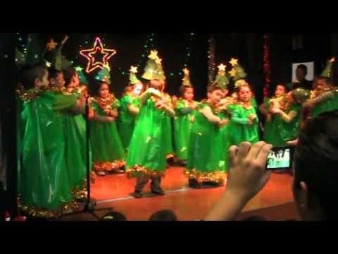 """VILLANCICO: """"Árbol de Navidad"""". PRIMARIA 1ºB - YouTube"""