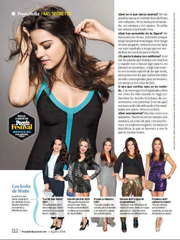 Maite Perroni - People En Español (9-7-4)_3 #PeopleEnEspañol #MaitePerroni