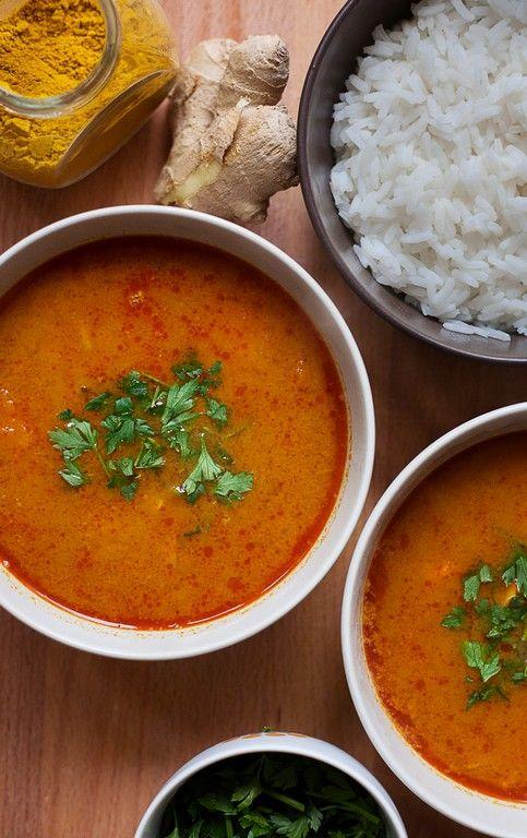 azjatycka zupa z dyni