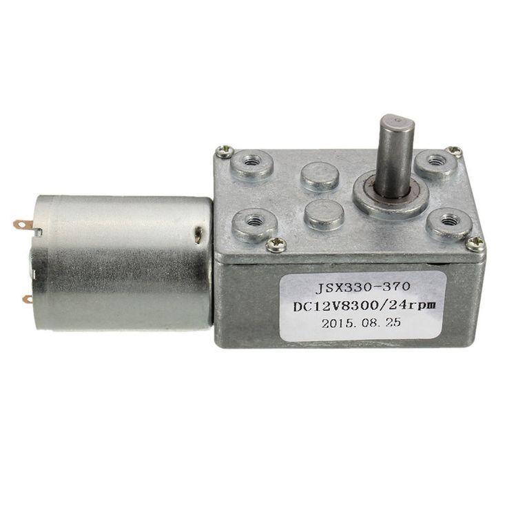 12v 24rpm velocidad cuadrada Caja de engranajes helicoidales motor de corriente continua orientada alto par motor de 370