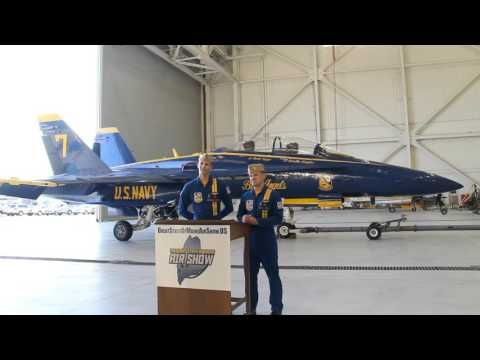 Blue Angels News Conference