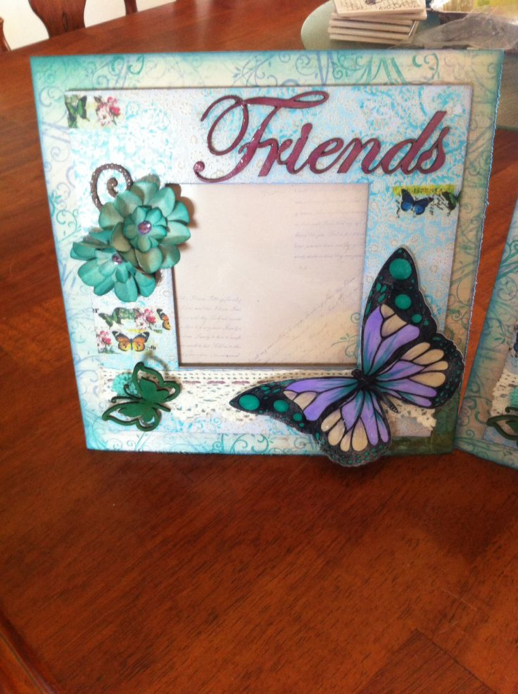 Friends frame created with all kaszazz products by Raelene Refalo