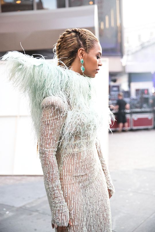 Beyoncé arriving at the MTV Video Music Awards Madison Square Garden 28th August 2016