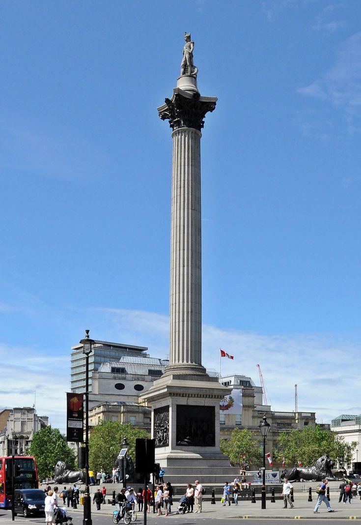 Nelsonu0027s Column is a monument in Trafalgar