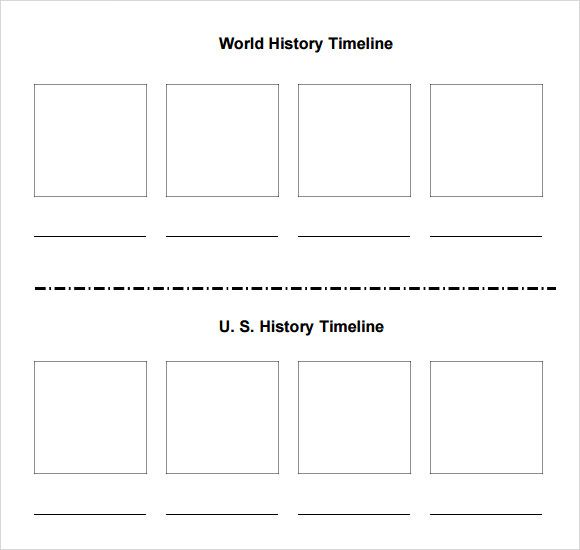 blank timeline template for students history templates historical