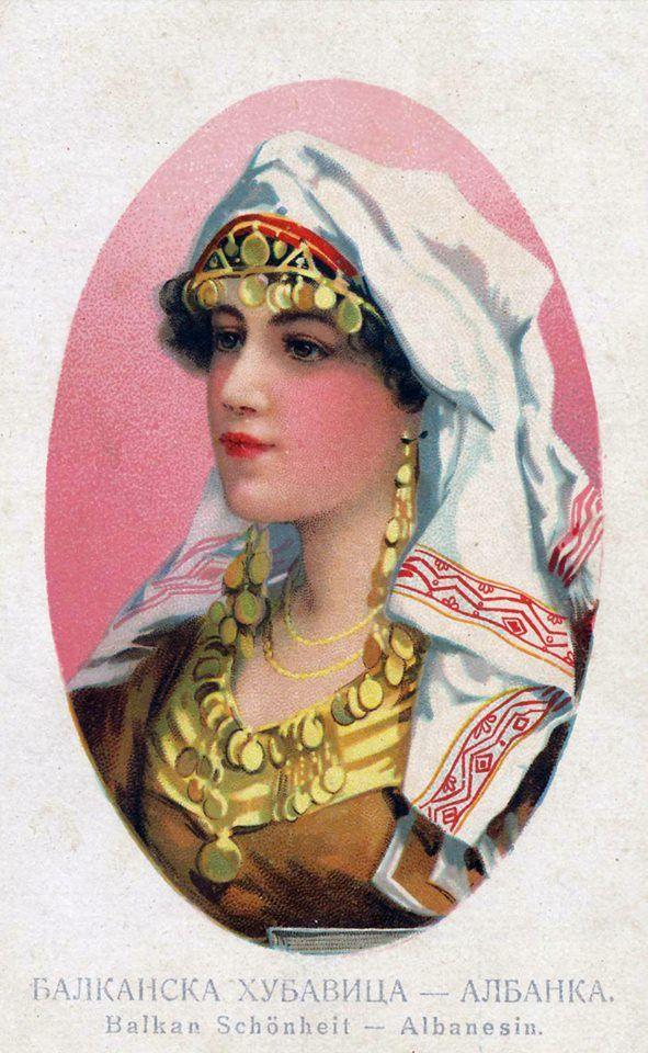 Shqiptare e bukur 1919