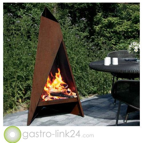 design feuerstelle fr den garten - Versunkene Feuerstelle Designs