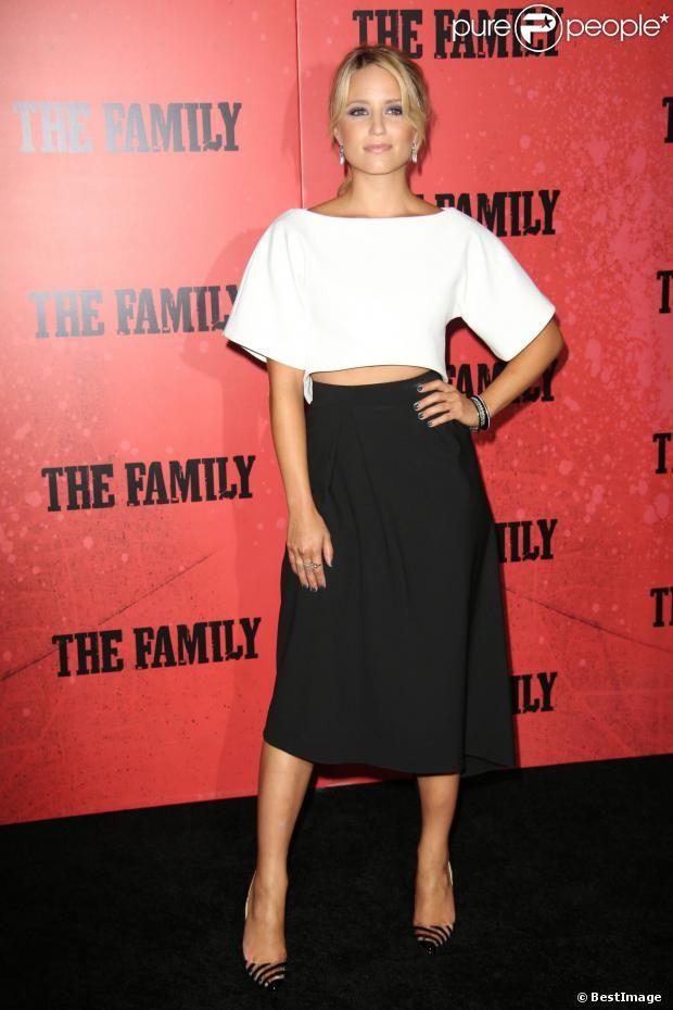 Dianna Agron lors de l'avant-première du film Malavita à New York le 10 septembre 2013