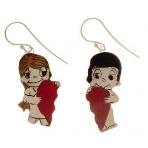 love is ,  earrings