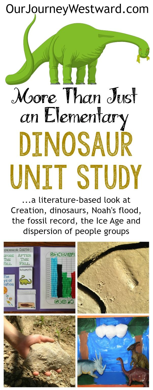 The best science & history unit study of the year - hands-down!  Dinosaurs + so much more.
