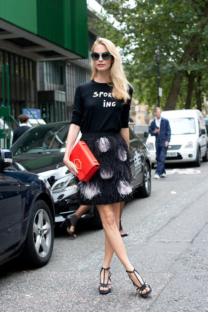 Pin for Later: Das sind die 21 am besten gekleideten Frauen der Fashion Week Poppy Delevingne