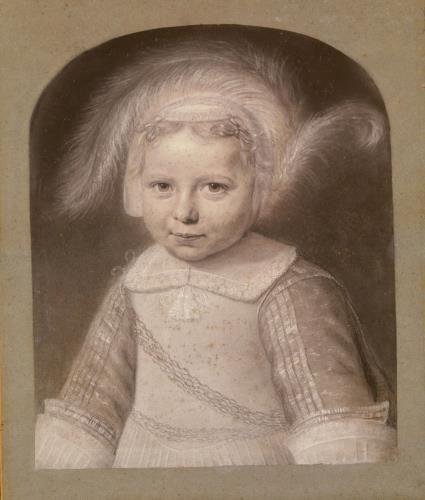 Wallerant Vaillant (1623 – 1677), portrait of Gerbrand Elias (1652-1689), 1653 - Amsterdam Museum: