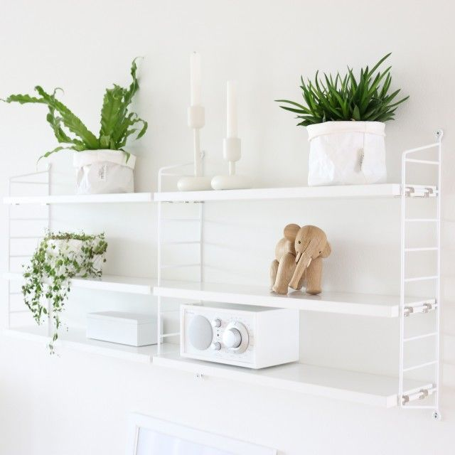 Shelf decoration, String Pocket