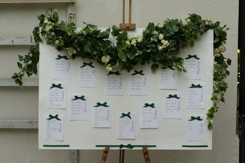 tableau mariage con fiori - Cerca con Google