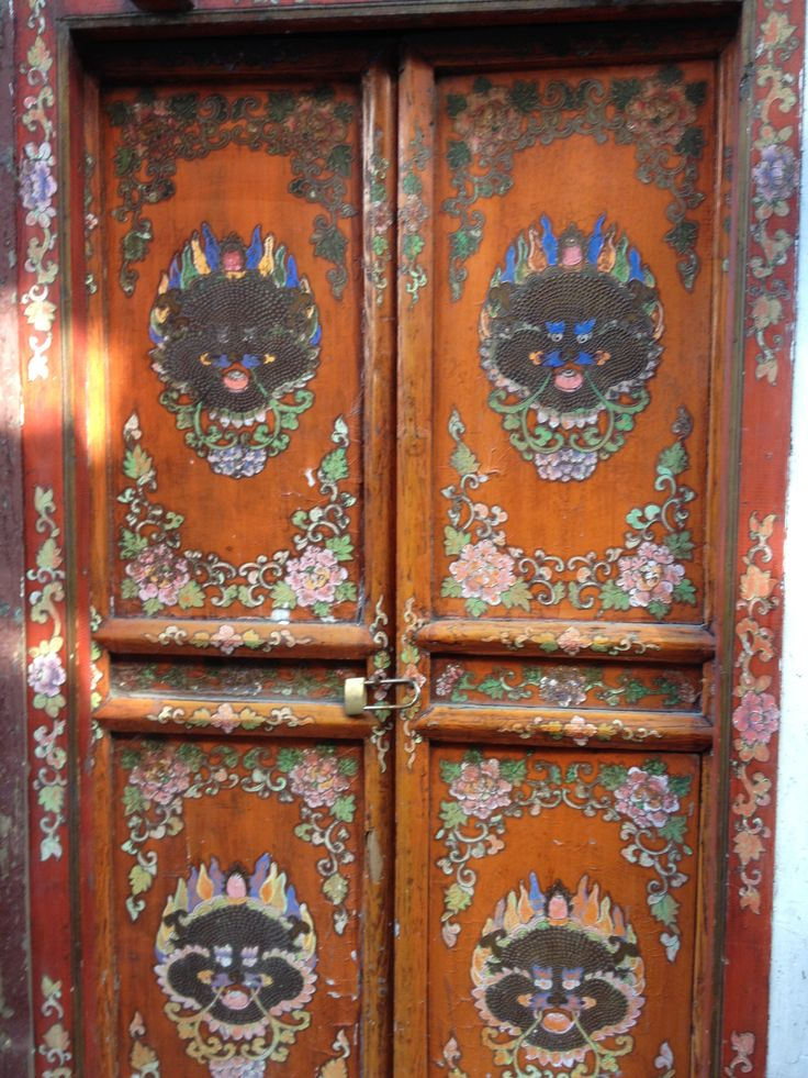 Arty door