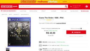 [AMERICANAS] Jogos de PS4 (Fallout 4, The Order e Payday 2) R$ 40, 45 e 50