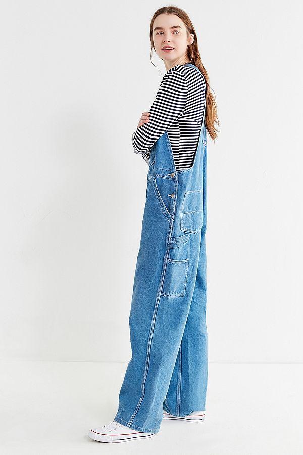 Vintage Oversized Denim Overall Overalls Vintage Denim Overalls Outfit Overalls