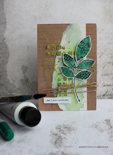 Riikka Kovasin - Paperiliitin: I will catch you - Craft Stamper