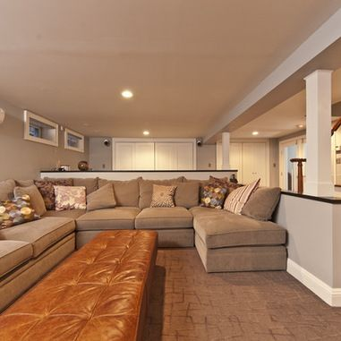 basement design ideas pictures remodel and decor finished half