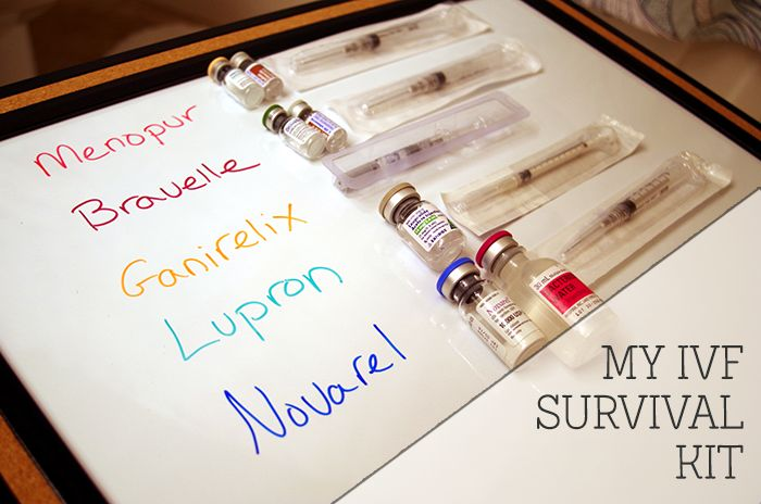 My IVF Survival Kit - Anyone fighting infertility has a different story, history, path, and struggle. Here's a few of the things (some big, some small) that helped me through my struggle and might help others too.