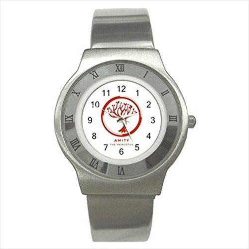 Amity Faction Divergent Series UNISEX ADULT Slim Stainless Steel Watch Quinn Cafe http://www.amazon.com/dp/B00V35ABK0/ref=cm_sw_r_pi_dp_XB9dvb08J3WJT