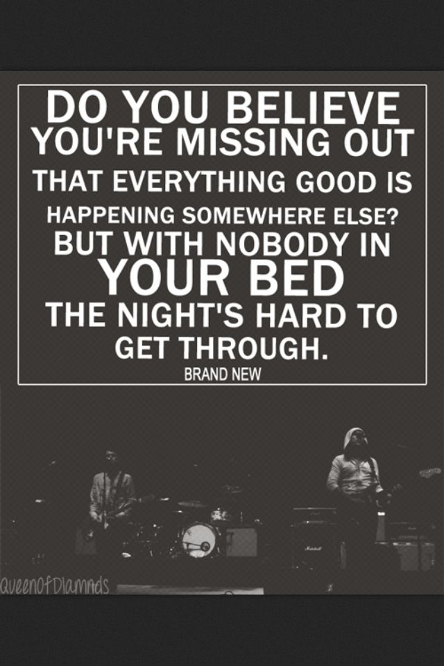 :( forgot how saddening this song is and how hard I relate to it.......Jesus Christ - Brand New