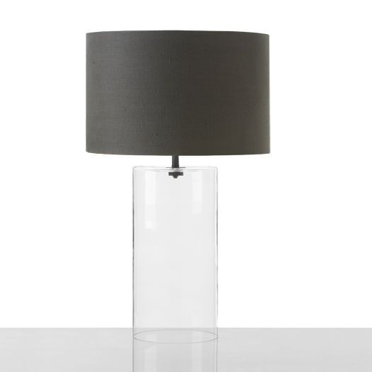Cylinder Table Lamp- Cisco glass