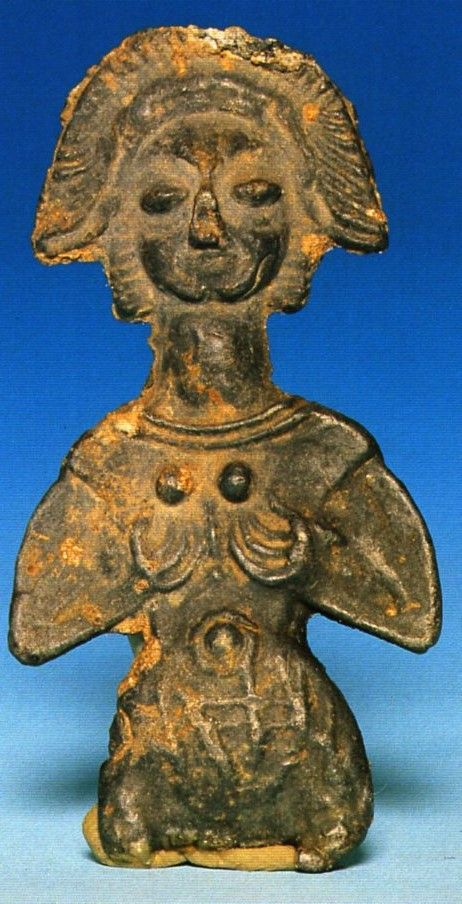 Hittite, Goddess Figurine, Beginning of 2000 BC, Kültepe (Erdinç Bakla archive)