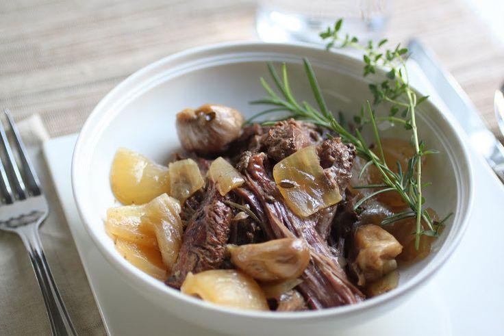 Slow cooked lamb shoulder | Healthy food | Pinterest