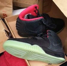Air Yeezy 2 Solar Red Size 10 Deadstock