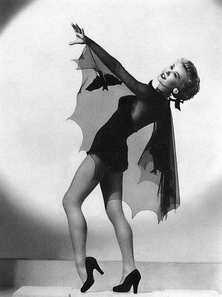 Vera Ellen: Halloween Pinup Pose