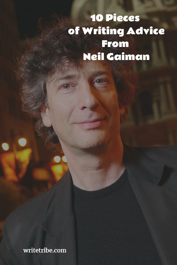 10 pieces of writing advice from Neil Gaiman