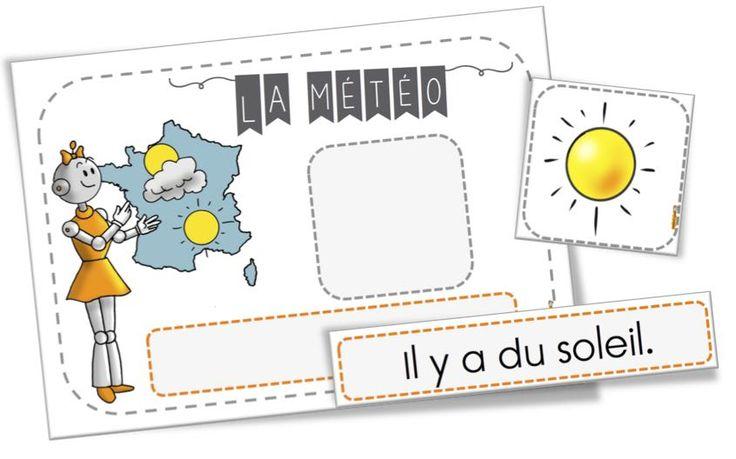 FREE French weather chart | Affichage de la météo