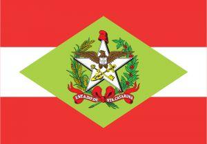 Bandeira de Santa Catarina, Brasil