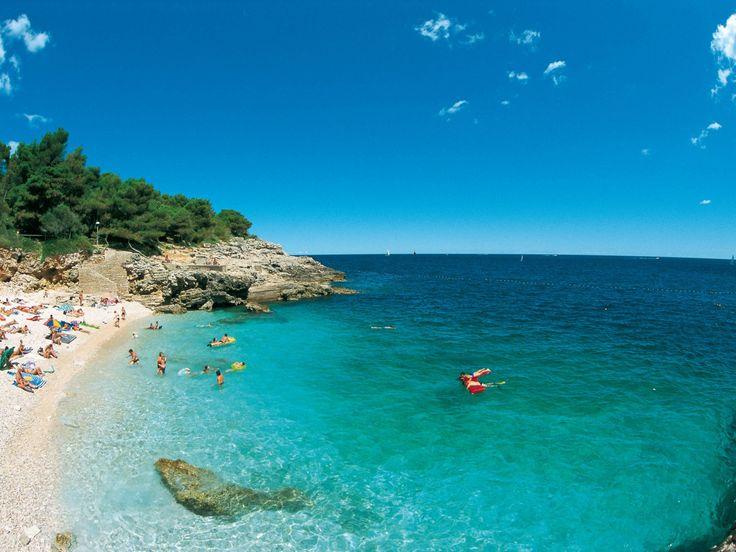 beach apartment holiday in Pula, Croatia