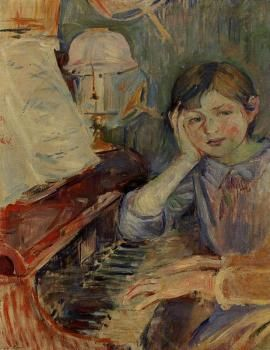 Julie Listening - Berthe Morisot - The Athenaeum