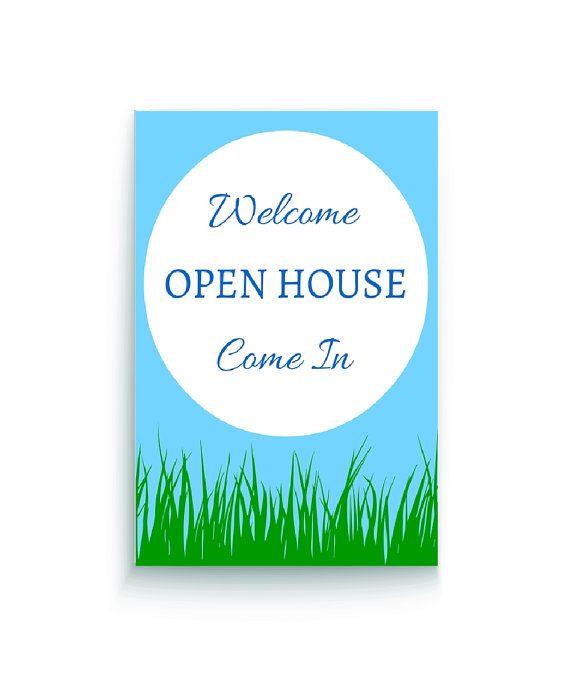 94 best Open Houses images on Pinterest Real estates, September - open house templates