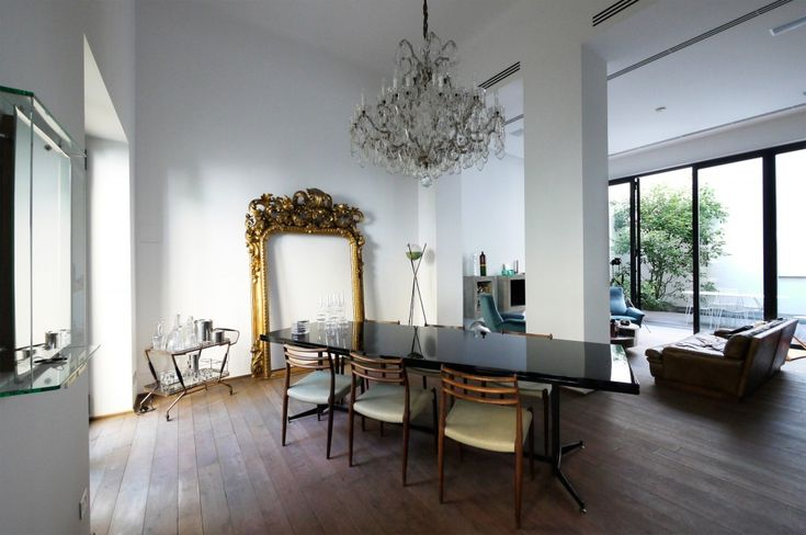 8 a architetti town house a milano 2010 1 gold for Home decor milano