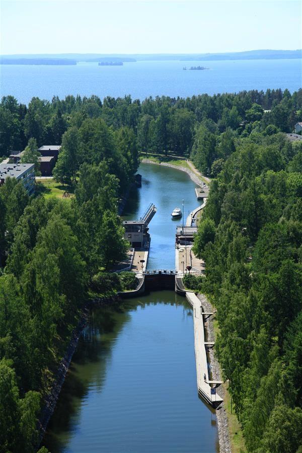 Vääksy canal, Vääksyn kanava, Finland *  http://fi.wikipedia.org/wiki/V%C3%A4%C3%A4ksyn_kanava