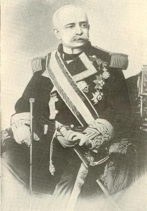 Admiral Patricio Montojo y Pasarón (September 7, 1839 – September 30, 1917) was a career Spanish naval officer most known for his defeat at the Battle of Manila Bay (May 1, 1898) by Admiral George Dewey, a decisive battle of the Spanish-American War.